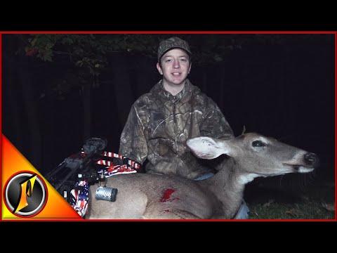 Opening Day Successful Hunt! Pennsylvania Self-filmed Doe Harvest!