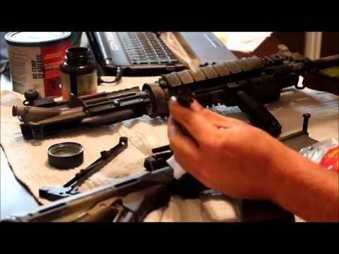 Reid's Tips On Cleaning and Lubricating Your AR-15