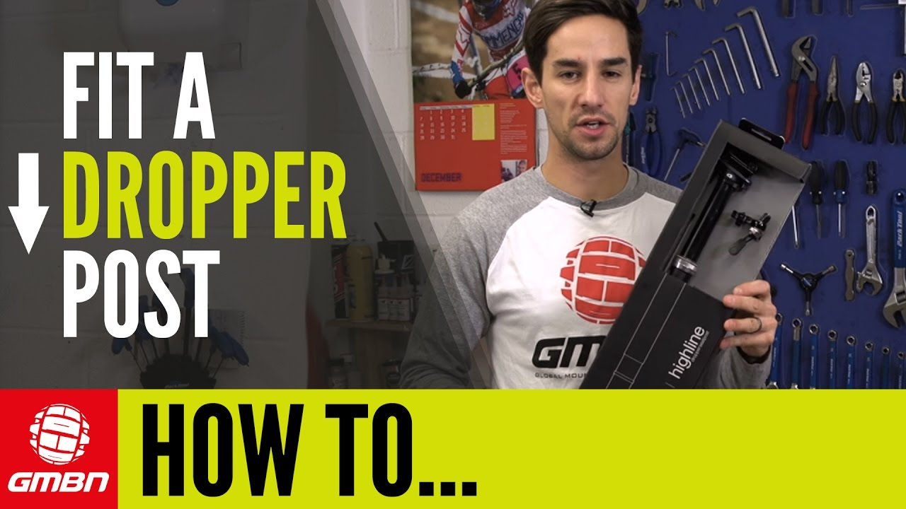 How To Fit A Mountain Bike Dropper Post - crankbrothers Highline | MTB  Maintenance