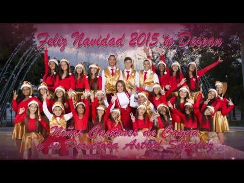 Noche de Paz Mensaje Navidad Niños Cantores de Cagua 2015