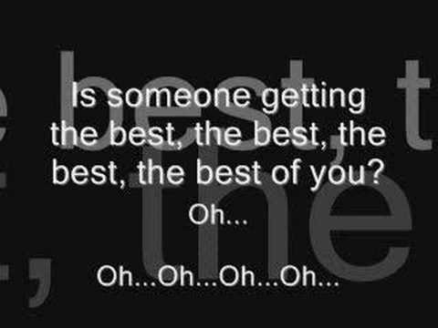 Best of you (with lyrics)