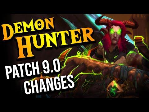 WOW 9.0 Shadowlands Demon Hunter UPDATES