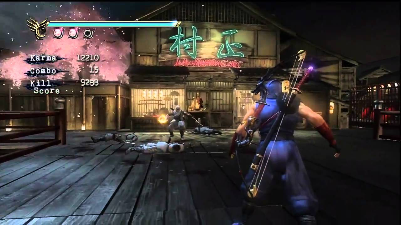 Ninja Gaiden Sigma 2 Dragon Sword Skill Display Youtube