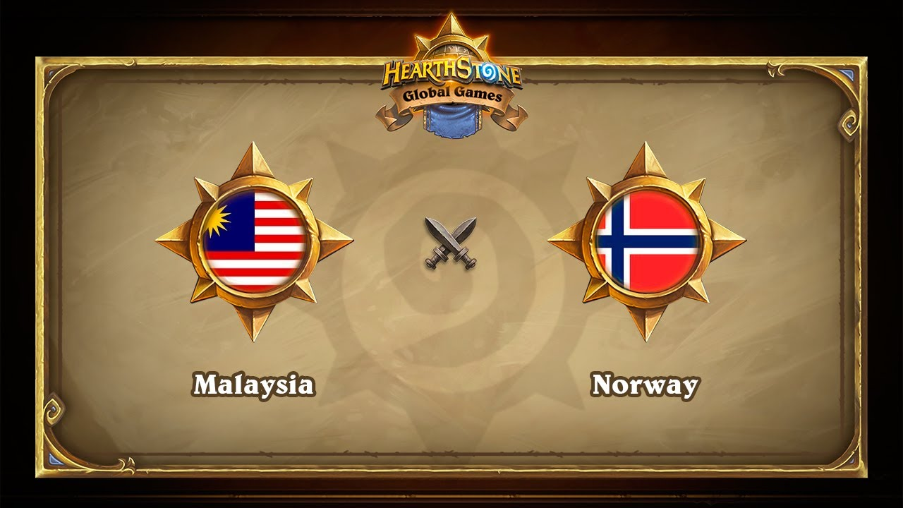 Малайзия vs Норвегия, Hearthstone Global Games Phase 2