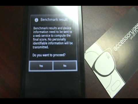 Motorola Droid X 2.2 Root and Overclock Part 3 By AccessoryGeeks