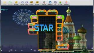 Tetris Party Deluxe on Dolphin v2.0 - Nintendo Wii Emulator