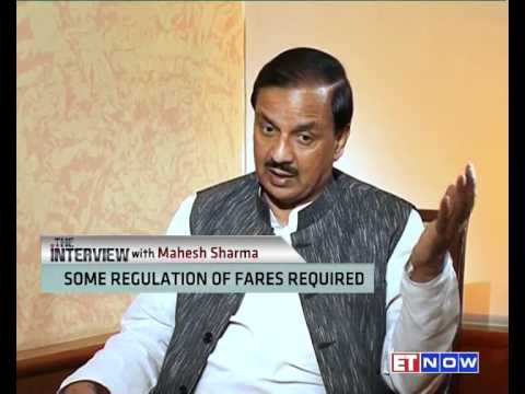 The Interview With MoS Aviation Mahesh Sharma | FULL SHOW