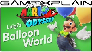 Super Mario Odyssey - Luigi's Balloon World Free DLC Update! (Nintendo Direct)