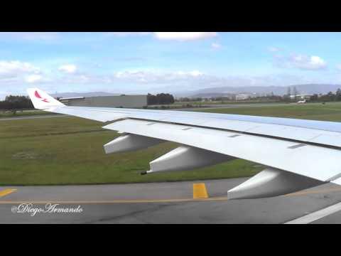 Avianca Airbus A330 Despegue de El Dorado Bogotá trip report