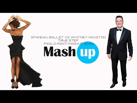 Spandau Ballet Vs Whitney Houston   True Step   Paolo Monti mashup 2020