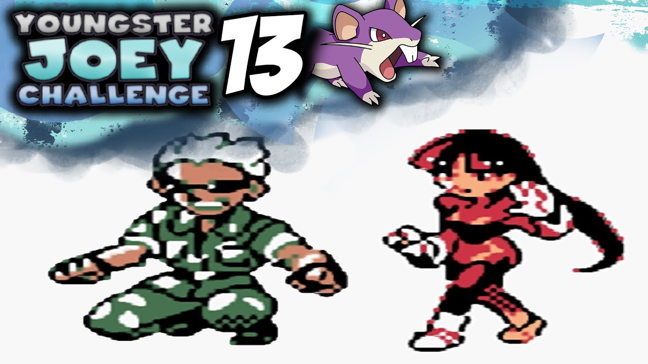 Pokemon Crystal [Youngster Joey Challenge] - Episode 13 ... Youngster Joey Challenge
