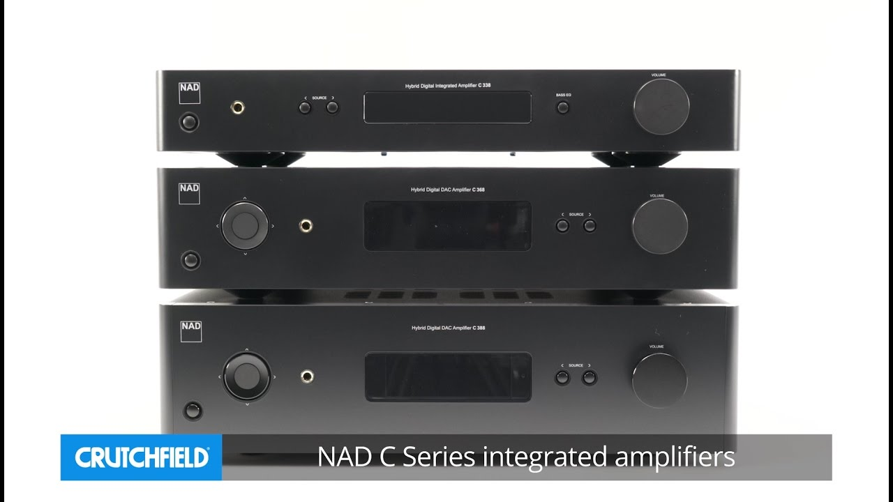 NAD C Series integrated amplifiers | Crutchfield video