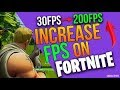 HOW to INCREASE FPS in Fortnite PC ( W10 )