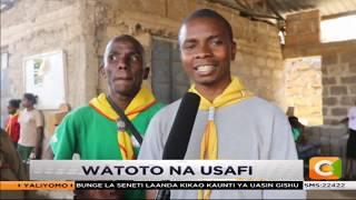Juhudi  za usafi zafanywa na watoto Kayole #SemaNaCitizen
