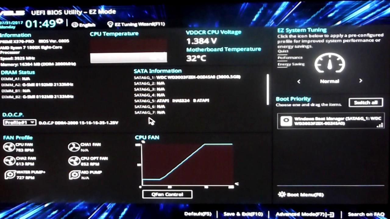 NEW !! ASUS BIOS 0805 C-States problems  (PRIME X370-PRO)