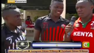 Monday Football with Harambee Stars