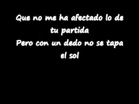 A Puro Dolor - Son By Four (LETRA)