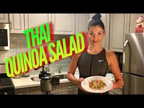 Thai Quinoa Salad *Vegan *Glutenfree