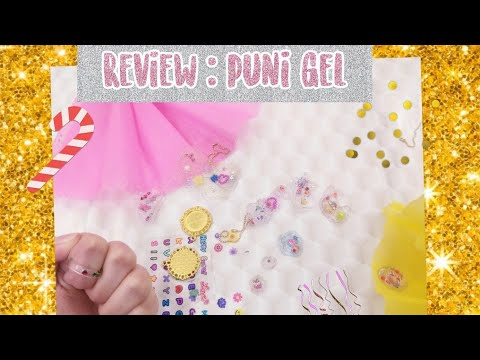 PUNI GEL DIY KIT REVIEW 💖❄// DIY RESIN / SQUISHY 💖