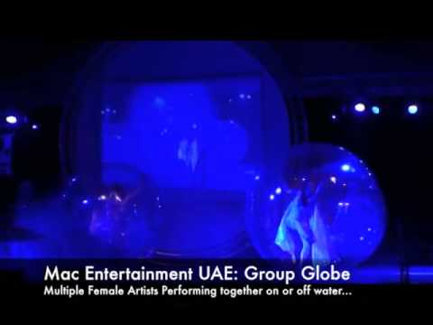 Glitter Globes - Mac Entertainment UAE