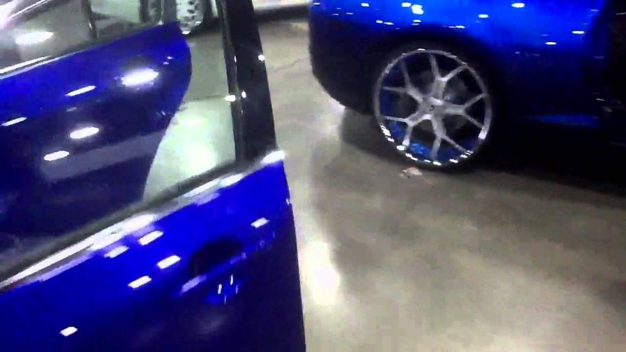 Forgiatofest 2013 swift candy cobalt blue Infiniti g37 - YouTube