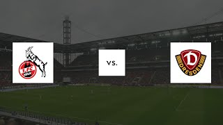 1. FC Köln - Dynamo Dresden 8:1   10.11.2018   2. Bundesliga