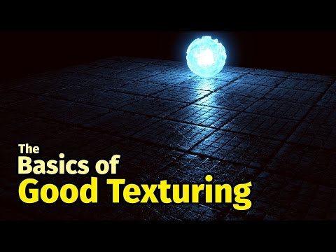 The Basics of Good Texturing in Blender