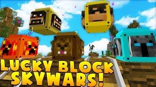 Minecraft 2v2 YOUTUBER ISLAND LUCKY BLOCK BATTLES! | (Minecraft Modded Minigame)