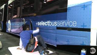 SBS Bus Wrapping