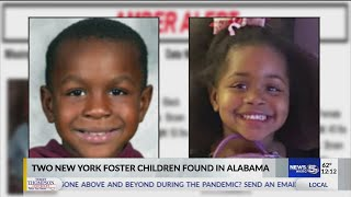 VIDEO: 2 children taken from NY foster home found in Alabama