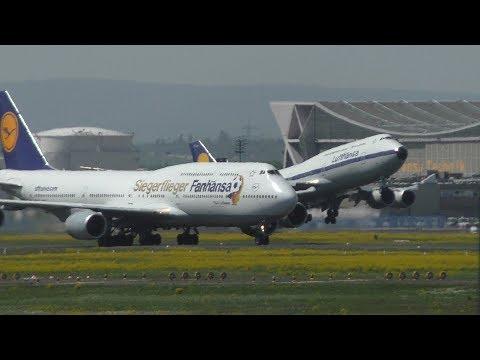 PLANE SPOTTING FRANKFURT AIRPORT 27-4-2018 | HEAVY DEPARTURES!