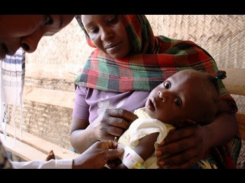 Combating child malnutrition in Darfur, Sudan