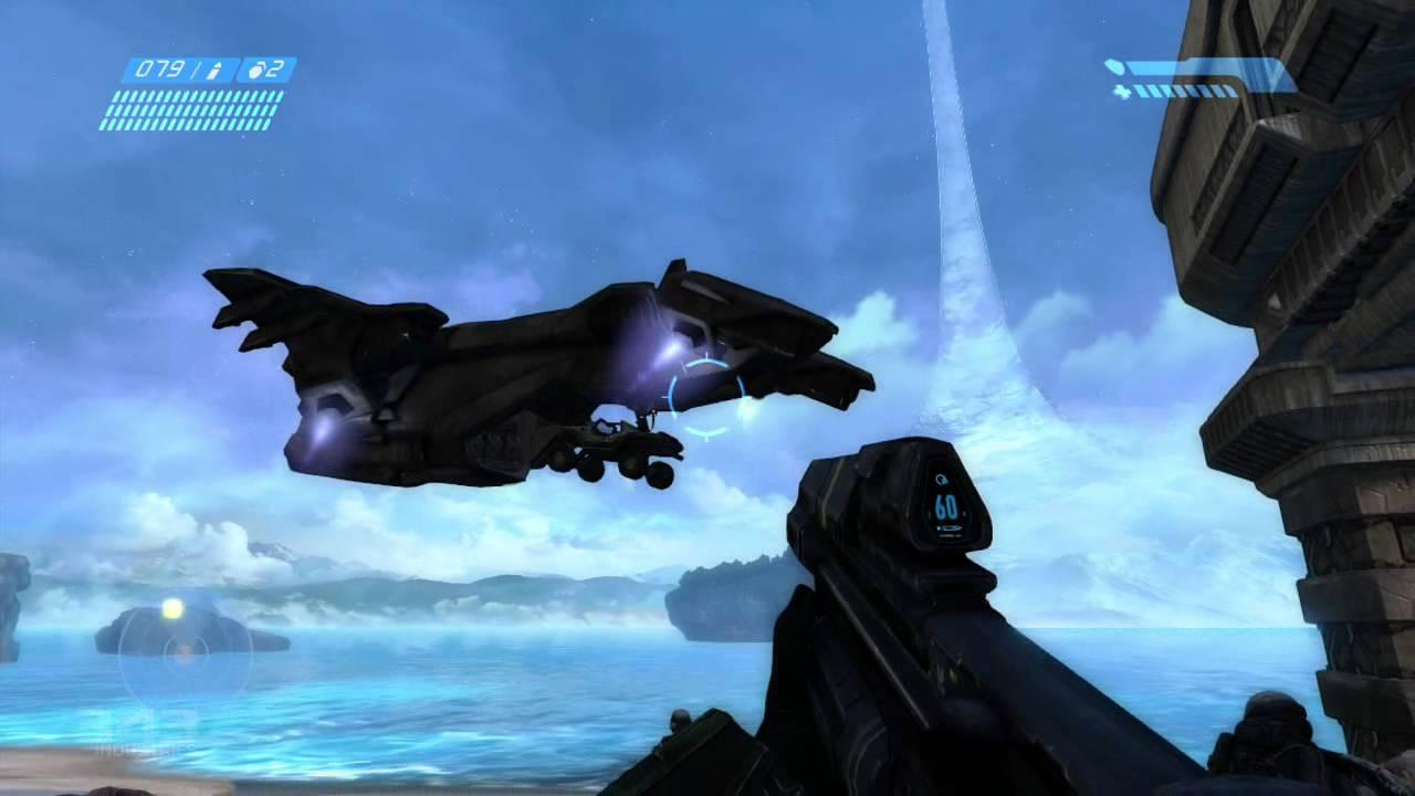 Halo Combat Evolved Anniversary Xbox 360 Gameplay