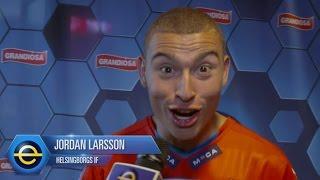 Jordan Larssons Ronaldo-vrål efter segern - TV4 Sport