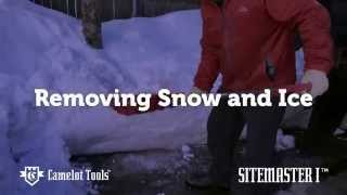 SiteMaster I Camelot Tools: Removing Snow and Ice