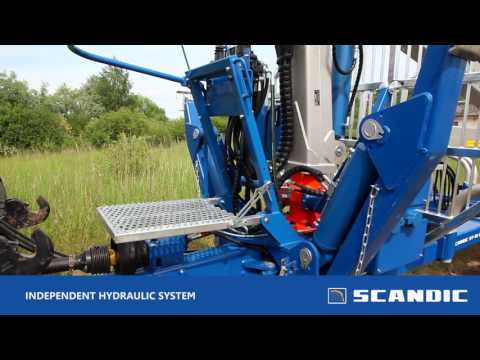 Scandic 10D 2WD forest trailer
