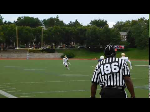 McNeil punt return Good Counsel/Mount St. Joseph football 09/03/16