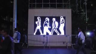 2º SP_Urban Digital Festival - Promenade por Julian Opie