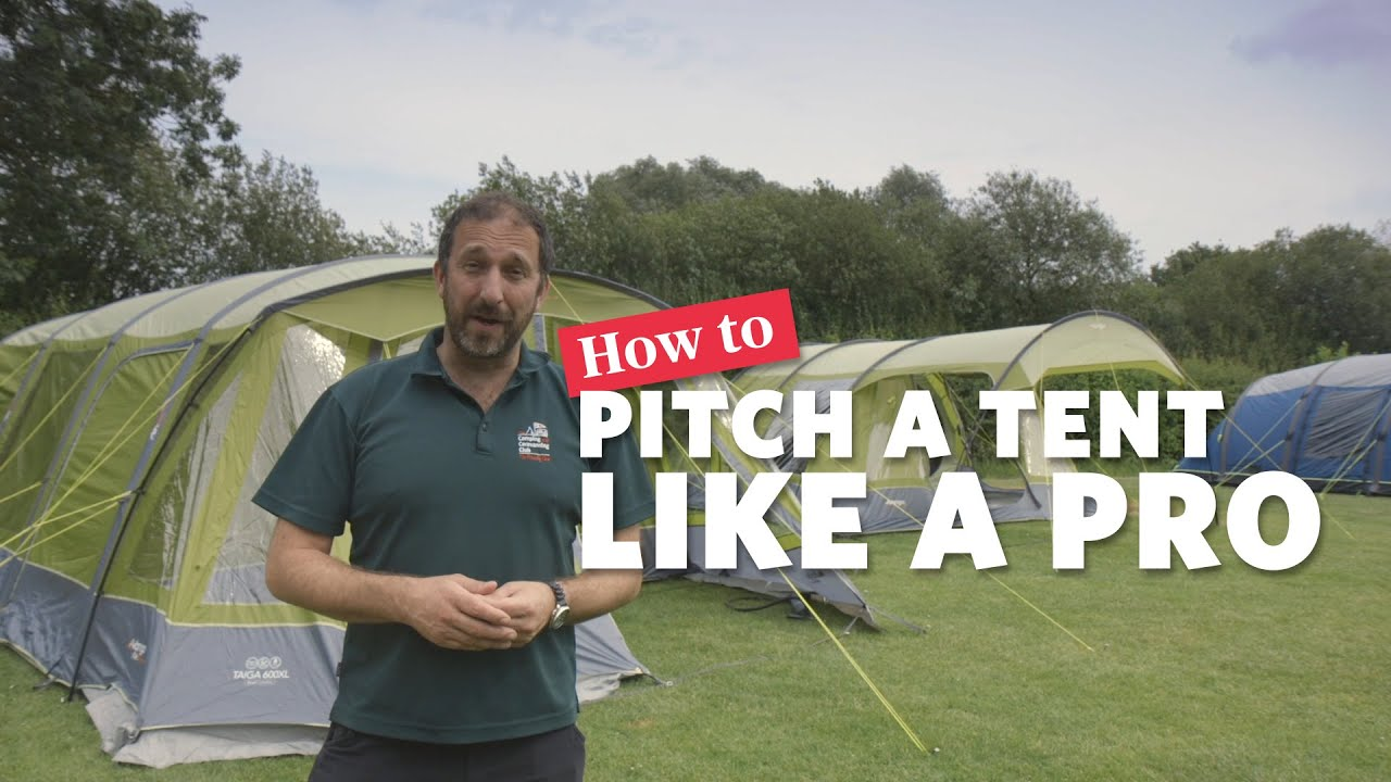 Download How to pitch a tent like a pro: Camping & Caravanning