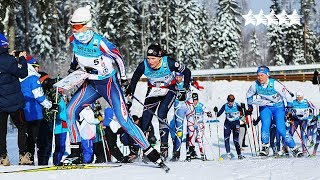 The final day of competition - mass start Ski Orienteering WUC 2018 Tartu