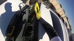 windshield replacement hummer h3  remplaso de parabrisas
