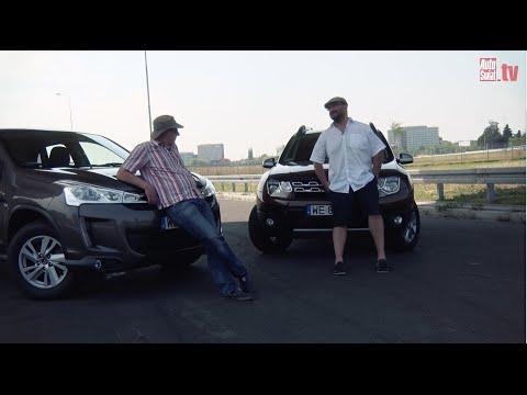 Auta bez ciemy 28 Dacia Duster kontra Citroen C4 Aircross