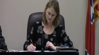 Manchester TN Board Of Mayor & Alderman Meeting 01-03-2017