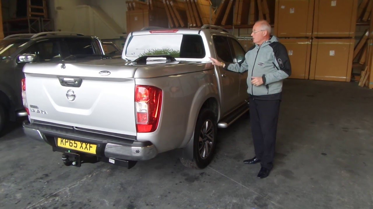 nissan navara np300 standard top up cover tonneau lid no styling