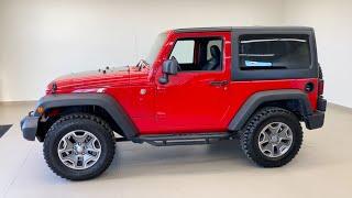 2014 Jeep Wrangler - Used Cars - For Sale - Brantford Kia 519-304-6542 Stock No. P2796