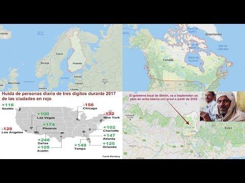 Finlandia y Canadá han eliminado la mal llamada renta básica universal ¿Ha habido órdenes de arriba?