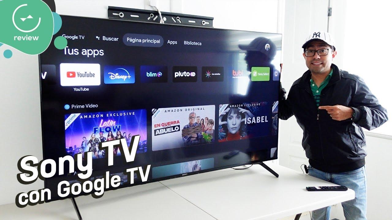 Sony X90J con Google TV | Review en español