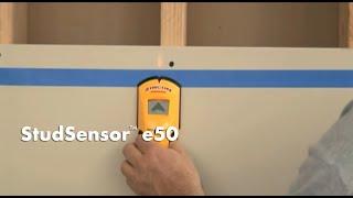 How Use Zircon Studsensor E50 Stud Finder Find Wall Studs