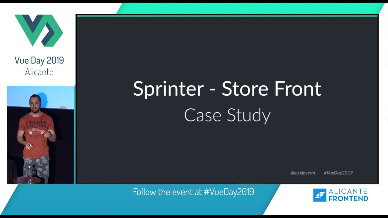 Using Nuxt js in huge E-Commerce – Alex Jover – Vue Day 2019