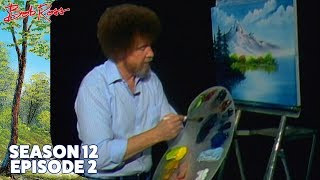 Bob Ross - Mountain Reflections (Season 12 Episode 2)